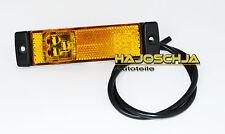 Seitenmarkierungsleuchte gelb   LED 12 - 24 Volt  Anhänger LKW  Auflieger