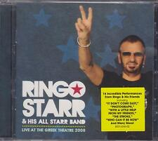 "Ringo Starr & His All Starr Band ""Live At The Greek Theatre 2008"" CD Beatles"