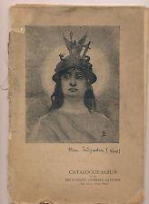 album « Victor Hugo illustré » / Spécimen des dessins et gravures