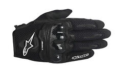 ALPINESTARS Stella SMX-1 AIR Leather/Mesh Motorcycle Gloves (Black) S (Small)