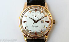 LONGINES CONQUEST CALENDAR original 18K gold automatic watch. Fully restored