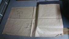 "25 TARP BAGS  73"" tall X 43"" wide  long EXTRA LARGE - WATER RESISTANT"