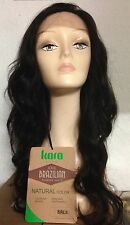 NEW 100% Brazilian Virgin Remi Unprocessed Natural Human Hair Lace Wig BRL05 -UK