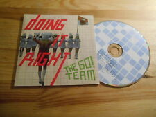 CD POP Go! team-doing it right (3) canzone PROMO Memphis Industries Coop CB