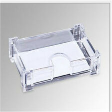 wholesale Plastic Business Card Holder Case Display Stand Desk Transparent
