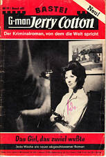 "Jerry Cotton Nr. 0483 ***Zustand 2-*** ""1. Auflage"""