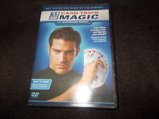 RARE DVD CARD TRICK MAGIC with Stephane Vanel Magician LEARN EI Expert Insight