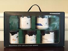Starbucks Malaysia City Collection Series Kedah Johor Perak Pahang Selangor Mugs