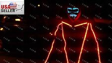 Daft Punk Tron LED Robot Festival Costume Party EDM Rave Halloween - NEW USA
