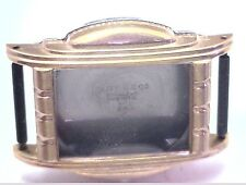 NOS Antique Vintage Lite Watch Co Yellow Mens Watch Case w/o Crystal #UM6A