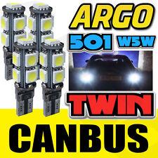 4X 9SMD W16W REVERSE LIGHT LED W5W WHITE XENON FREE ERROR AUDI A5 8T 2007-2011