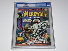 Werewolf by Night #32 CGC 9.4 Origin& 1st appearance Moon Knight (1975 Old-Blue)
