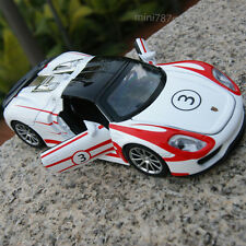 Porsche 918 martini White &  red lines 1:32 alloy casting model car toy & gifts