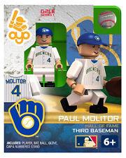 Paul Molitor OYO HALL OF FAME Milwaukee Brewers MLB Mini Fig G2