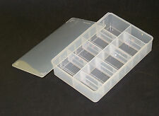 Plastic Box for Fasteners Stand Small Organised Storage for DIY Screw Nail Frost