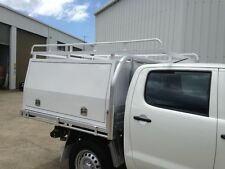 ALUMINIUM UTE CANOPY for DUAL CAB - BRAND NEW - POWDERCOAT