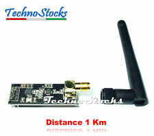 nRF24L01 + PA + LNA + Antenna 1100m Modulo Radio Wireless 2.4GHz Distance 1km