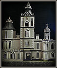 OOAK 1/12th Large Dolls House No Furniture Victorian / Edwardian 4 story Mansion