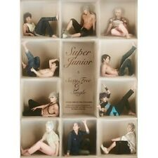 SUPER JUNIOR 6th Album SEXY, FREE & SINGLE Type B CD Sealed SUJU K-POP