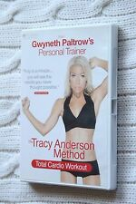 The Tracy Anderson Method: Total Cardio Workout (DVD), Region-2, Like new