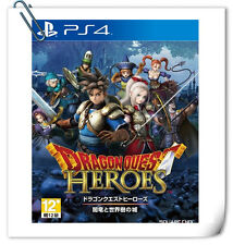 PS4 Dragon Quest Heroes 勇者斗恶龙暗龙 中文 ENGLISH 日文 SONY Action Square Enix Action