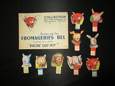 ancien album la vache qui rit n°1 Benjamin Rabier publicité pub 9 personage 1950