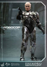 "Sideshow Hot Toys 1/6 Scale 12"" Robocop Battle Damaged Version Figure MMS265"