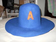 Vintage Auburn University Tigers football game day hat - 1970s (see old photo)
