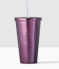 new STARBUCKS Lunar New Year Purple Stainless Steel Cold Cup 16 OZ
