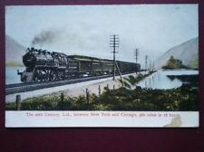 POSTCARD 20TH CENTURY LTD NEW YORK - CHICAGO EXPRESS