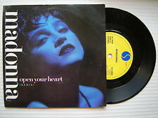 Madonna - Open Your Heart / Lucky Star, Sire W-8480 Ex- Condition