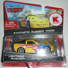 Lightning McQueen wuth Racing Wheels Disney Pixar Cars in Package KMart Only!