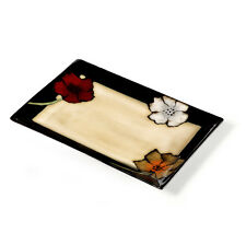Pfaltzgraff Everyday Rectangular Platter Painted Poppies