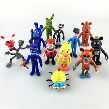 12pcs/Set FNAF Five Nights at Freddy's Action Figure Toys Doll Kid Gift