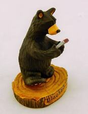 BIG SKY CARVERS BEARFOOTS BLACKBEARRY BEAR COLLECTIBLE FIGURINE FREE SHIPPING