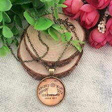 Antique Vintage Style Gothic Ouija Board Pendant Necklace Jewelry Halloween UK