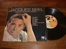 33 TOURS (25 cm) / LP--JACQUES BREL--LES BIGOTES / LES VIEUX