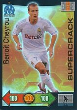 CHEYROU # SUPERCRACK 1/600 OLYMPIQUE MARSEILLE OM CARD PANINI ADRENALYN 2012