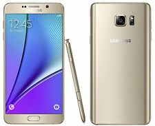Samsung Galaxy Note 5  SM-N920T 32GB - Gold T-mobile 9/10 Unlocked