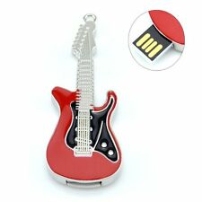 New High Quality Metal electric guitar 16GB USB 2.0 Memory Flash Stick Pen Drive