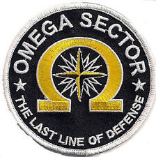 True Lies - Wahre Lügen - OMEGA SECTION -The Last Line of Defense patch Aufnäher