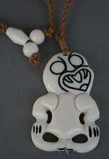 Maories Bone carving hei tiki Nueva Zelanda