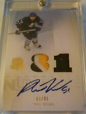 Phil Kessel 2009-10 The Cup Honorable Numbers Patch Auto /81 Maple Leafs
