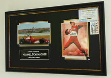 *** NEW  MICHAEL SCHUMACHER Signed PHOTO PICTURE Display with COA ***