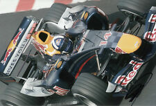 David Coulthard Hand Signed Red Bull Racing Photo 12x8 10.