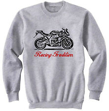 APRILIA RS4125 2012 TRADITION P - NEW COTTON GREY SWEATSHIRT ALL SIZES IN STOCK