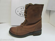 Steve Madden Size 8.5 M Brown Leather Boots New Womens Shoes