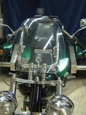 Windshield Highway 0 7/8in/1in Handlebars Trike BOOM Easy Rewaco WK Motorcycle