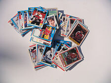 Lot of 95 Assorted NHL Hockey Trading Cards Different Teams, Players, Type AS IS