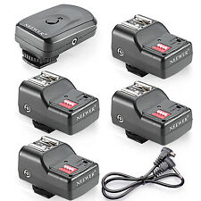 4 Channel Wireless Remote FM Flash Speedlite Radio Trigger PC Receiver UD#20